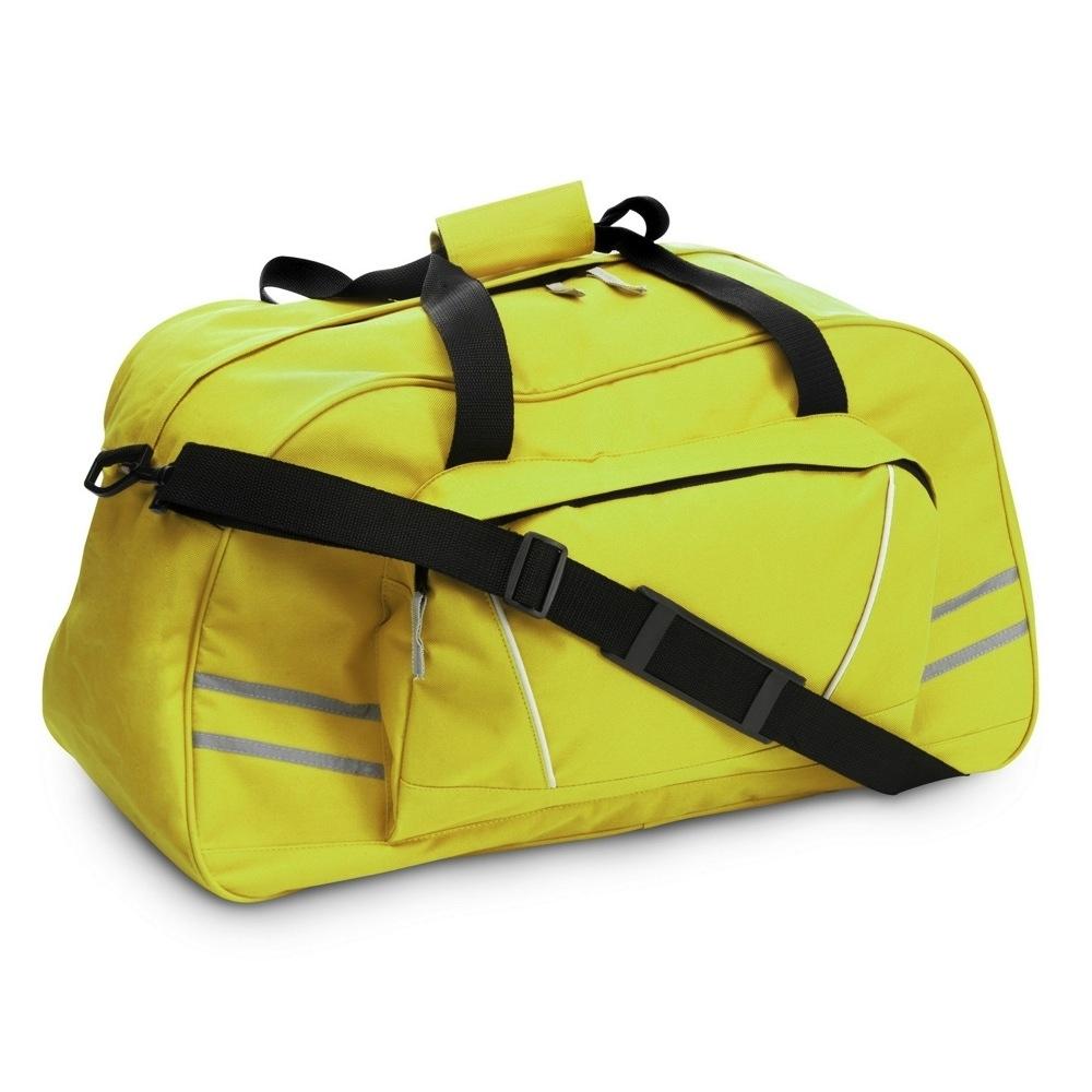 3b95080ecbc53 Torba sportowa / podróżna z odblaskowymi paskami, regulowany pasek na ramię  (V4625-08)