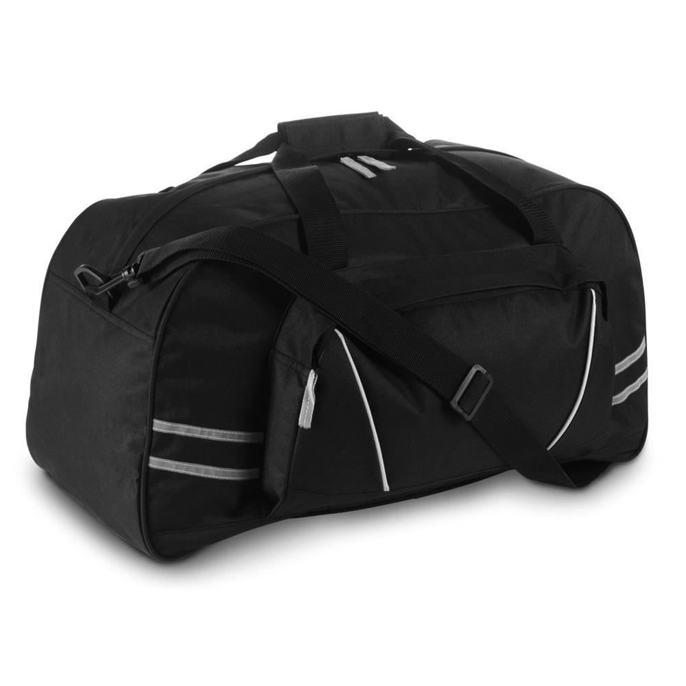 c134996cf2a5b Torba sportowa / podróżna z odblaskowymi paskami, regulowany pasek na ramię  (V4625-03)