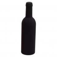 Akcesoria do wina w etui w kształcie butelki, nalewak, obręcz i nóż kelnerski (V7548-03)