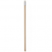Drewniany ołówek z gumką (V8634-02)