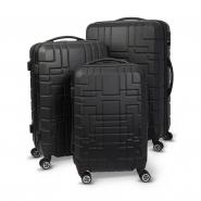 """Zestaw 3 toreb podróżnych na 4 kółkach, blokada, rozmiary:  20"""", 24"""" oraz 28"""" (V4947-03)"""