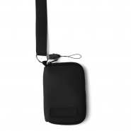 Etui na MP3 / telefon z wyjściem na słuchawki, smycz (V2450-03)