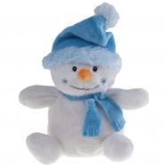 Bałwanek w błękitnej czapce i szaliku pod nadruk (HE324)